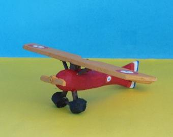 Morane-Saulnier Parasol Toy Airplane