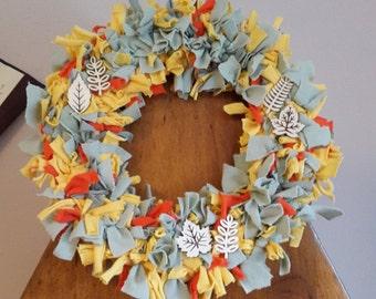 Shabby Chic Spring Wreath