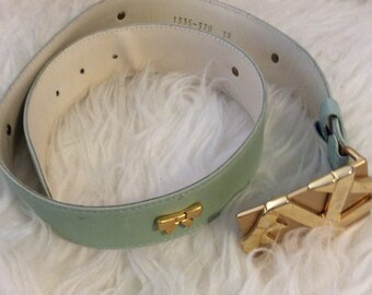 Vintage Escada green belt