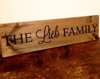Custom Family Sign, Custom Wooden Sign, Family Sign, Rustic Family Sign, Custom Rustic Sign, Wooden Family Sign, Custom Sign