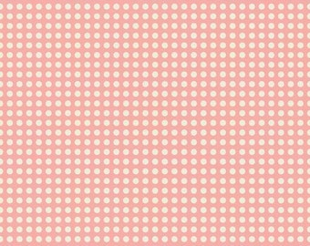 One Yard of Sweetest Dots Pink from The Sweetest Thing by Zoe Pearn