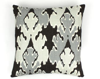 Kelly Wearstler (Both Sides) Bengal Bazaar Pillows (Shown in Graphite-comes in other colors)