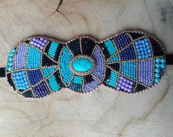 Beadwork Cuff Bracelet