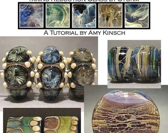 Lampwork Tutorial, Taking Reduction Glass by Storm