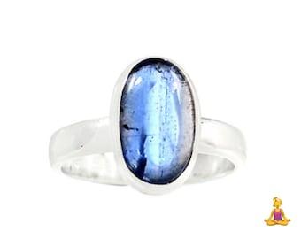 Size 7.5 Blue Kyanite Ring