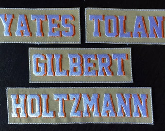 Ghostbusters Reboot Name Tags - YOUR NAME CUSTOM - Shadowed Letters