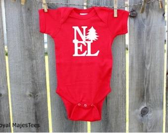 Christmas Noel Bodysuit, Christmas, Baby's 1st Christmas