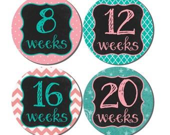 Pregnancy Stickers, Pregnancy Announcement, Pregnancy Belly Stickers, Pregnancy Photo Prop, Maternity Stickers, P28