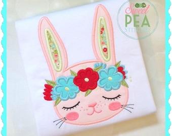 Girls Easter Shirt - Easter Bunny Shirt - Baby Easter Shirt - Boho Bunny Shirt - First Easter Shirt - Personalized Easter Shirt - Girl Bunny