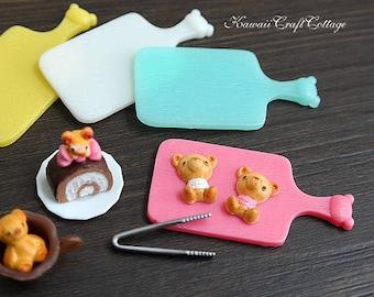 Miniature Food Tray Dollhouse Bakery Board Serving Tray Platter Cutting Board Dolls Food Tray kitchen Salver Kitchenware 1:6 1/12 bjd dolls