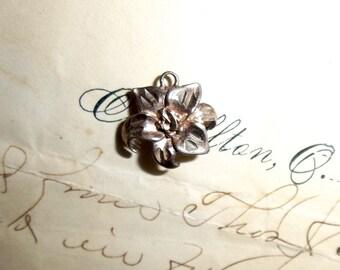 Child's Sterling Flower Pendant