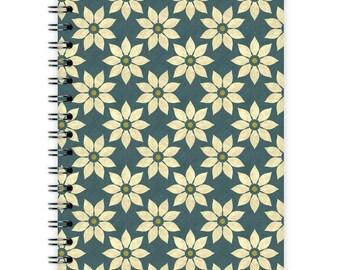 Notebook A6 - Flower Pattern