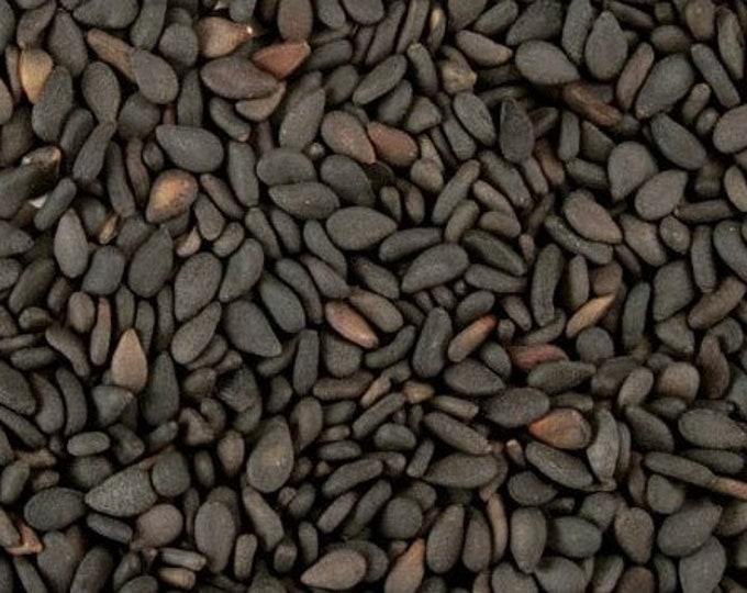 Roasted Black Sesame Seeds - Certified Organic