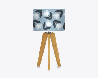 Tulip Lampshade in Pale Blue