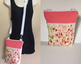 Sale***Pink, adjustable Crossbody/sling/hobo/shoulder bag