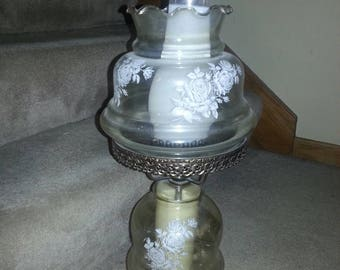 RESERVED**** Vintage Hurricane Lamp