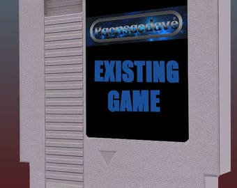 Existing Game on Cart! (Message first to see if it can be made)
