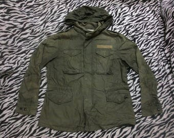 parka green army issue L size