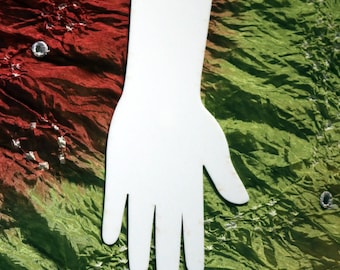 Acrylic henna practice hands and feet