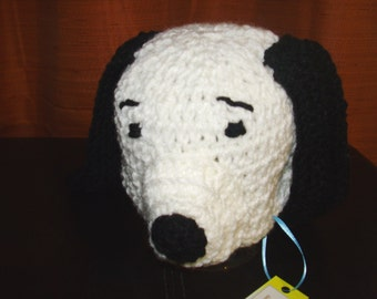 Peanuts Snoopy inspired puppy hat