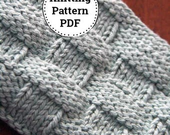 Knitting Pattern | Dishcloth Pattern | Knitted Dishcloth | Mom and Apple Pie