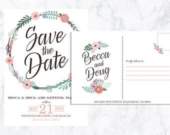 DIGITAL Save the Date Postcard