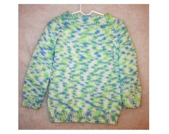 Sweater, Handknit no.1802