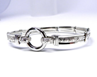 Made-To-Order Pure Elegance No 2 Sterling Silver Slave Collar