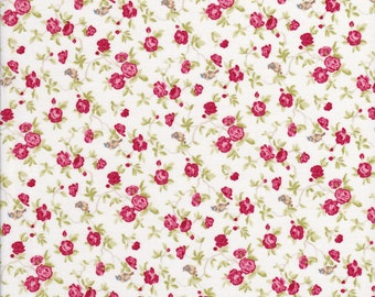Bird Fabric - Rose Fabric - Windermere Fabric - Brenda Riddle - Moda Fabric