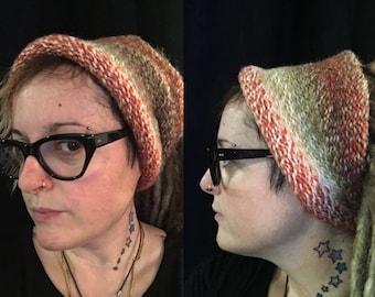 Knit tube, Tube Dreadlocks dreadlocks, Dread, hat dreadlocks, dreadlock headband, Tam hat, wide wrap, handmade, XXL
