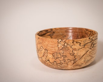 Spalted Maple Wood Bowl