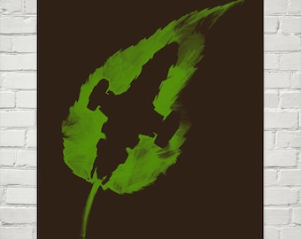 Firefly print Leaf on the Wind from an Original Firefly Serenity Painting