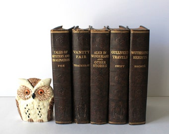 Vintage Hardcover Classic You Pick One for the Bibliophile in your life.
