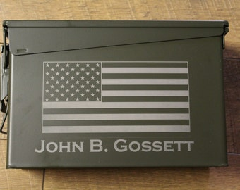 Groomsmen Gift Box, Personalized Ammo Box - Personalized Wedding Box, Best man, Father of the Groom,  wedding bridal party gift - engraved
