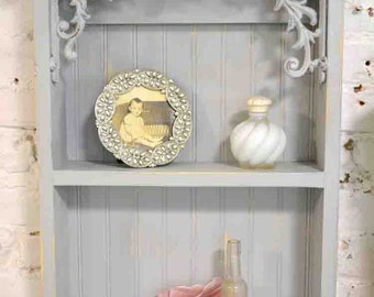 Painted Cottage Prairie Chic Hand Made Shabby Chic Shelf PR205