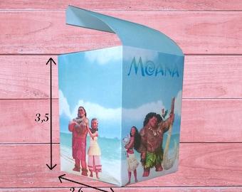 80% OFF SALE Moana Boxes Moana Party Printables Moana Theme Birthday Party Moana decoration Moana movie Moana box Moana party bags