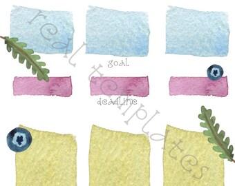 Goals Sheet Template