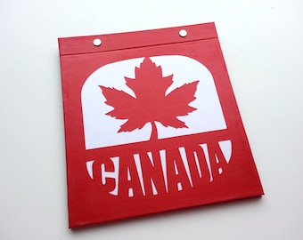 Race Bib Holder - Oh Canada!  - Hand-bound Book for Runners