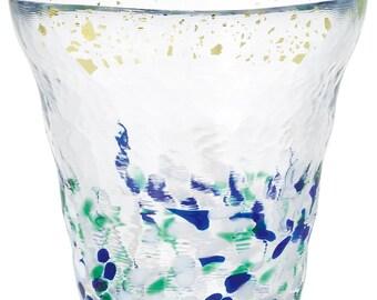 From Japan Tsugaru Glass Sake Cup