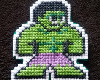 "Incredible Hulk Patch, 2"" x 2"""