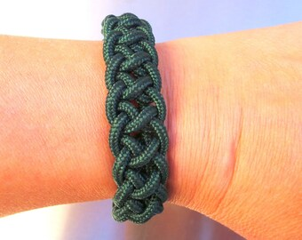Bracelet survie vert