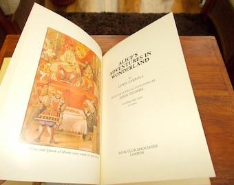 hbdj 1981 alice's adventures in wonderland illustrated John Tenniel