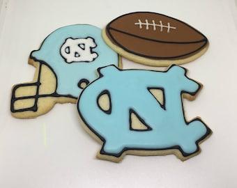 UNC Tarheels Cookies