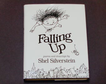 "Shel Silverstein - Falling Up - Poems and Drawings - ""Screaming Millie"" - Harper Collins First Edition 1996 - Hardcover Children's Book"