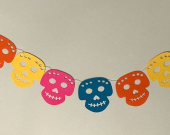 Coco Inspired Party Banner, Skull Banner