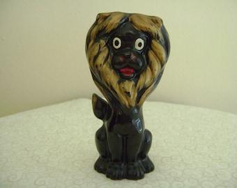 Vintage Lion Figurine Made in Japan