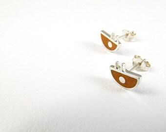 Sterling Silver Earrings - Little Bug