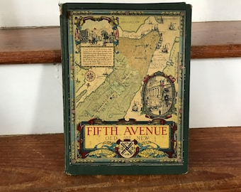 1924 Historical Reference Book: 'Fifth Avenue Old and New 1824-1924'