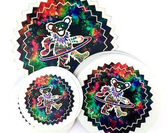 Grateful Dead Hooper Vinyl Sticker