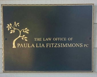 Sign for your Business, Wooden Sign for your Business, Gold Lettering, Display Sign